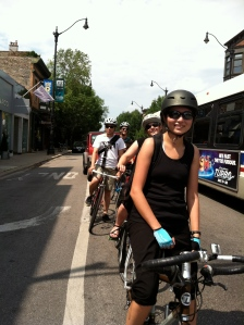 Summertime group ride!